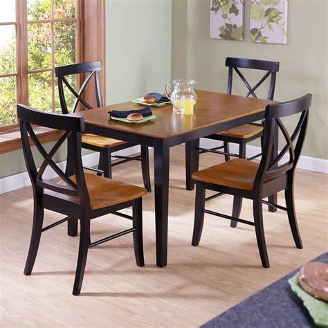 black x back dining chairs international concepts black cherry wood x back dining 7914
