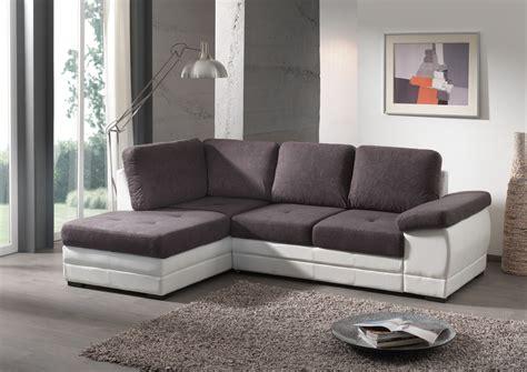 canapé d angle bois canapé d 39 angle contemporain convertible en tissu coloris