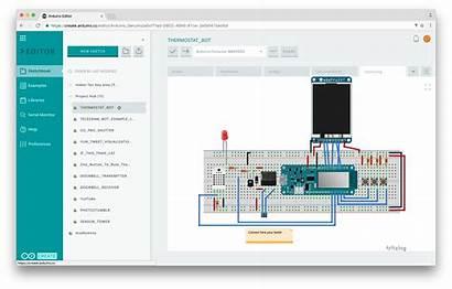 Arduino Editor Web Sketches Layout Cc Ide
