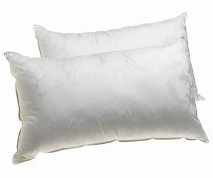 Dream supreme plus gel fiber filled pillows set of 2 for Comfort inn suites pillows
