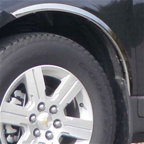 Chevrolet Traverse Chrome Wheel Well Fender Trim, 2009