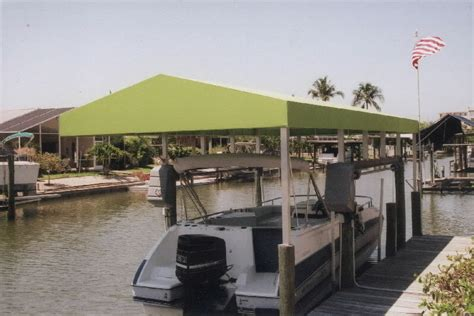 Boat Dock Canopy Covers by Dock Canopy Dock Canopies