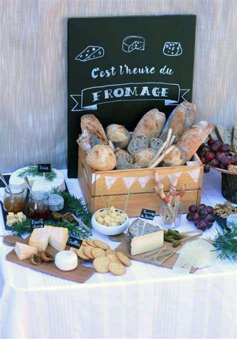 bar  fromage super idee de deco de table pour