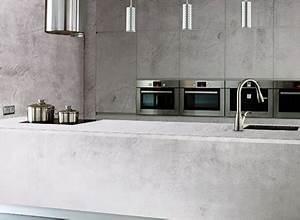 Betontapete Aus Echtem Beton : tapete mit echter betontapete beschichtet industrial k che berlin von chic24 ~ Indierocktalk.com Haus und Dekorationen