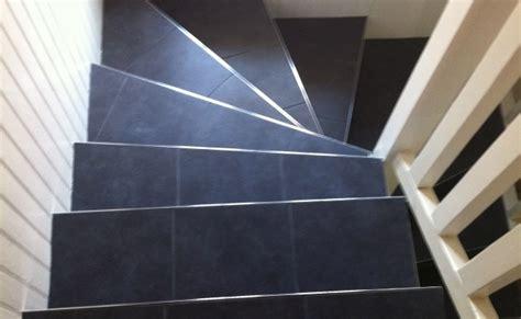 cree sa cuisine carrelage d un escalier