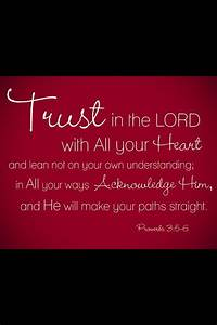 Inspirational Quotes On Trusting God. QuotesGram
