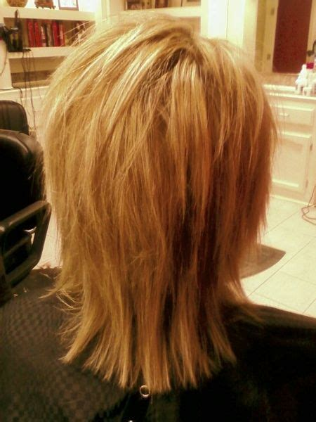 pin  medium shag hairstyles