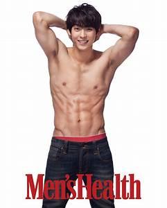 BTOB's Minhyuk Flaunts 6-Pack Abs for Mens Health ...