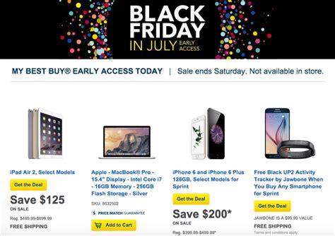 Best Buy Finally Realized It's Black Friday In July