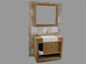 meuble de rangement salle de bain porte coulissante With meuble de salle de bain porte coulissante