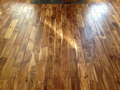 tobacco acacia flooring 3 4 quot x 4 3 4 quot tobacco road acacia handscraped virginia mill works lumber liquidators