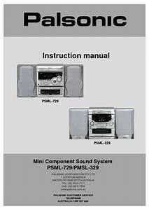 Pmsl-329 Manuals