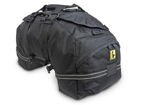 Beta Plus Rear Bag By Wolfman Motorcycle Luggage