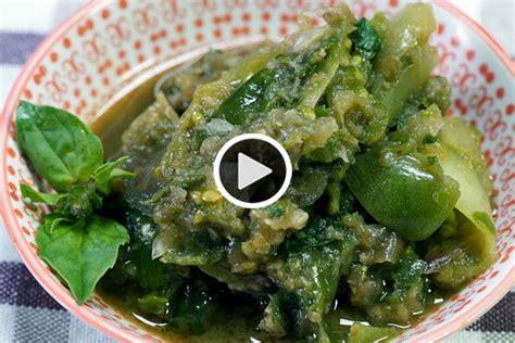 Sambal cabe ijo padang yang asli tentu akan membuat selera makan bertambah karena pedasnya mantap. Resep Praktis Bikin Sambal Cibiuk Hijau | Money.id