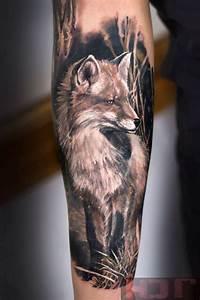 Fox Sleeve | Best tattoo ideas & designs | Tattoos and ...
