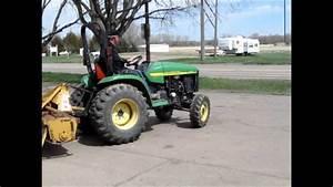 2002 John Deere 4410 Mfwd Tractor For Sale
