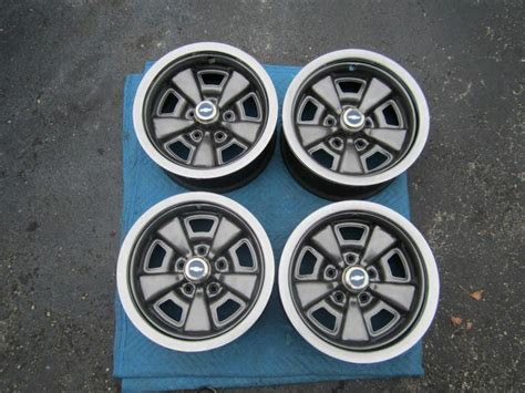 Find (4) '71-81 Chevy Chevelle Ss Camaro Z28 Rally Wheels