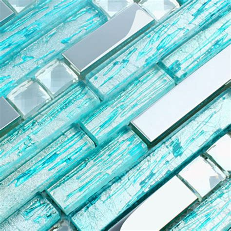 bathroom subway tile designs stainless steel backsplash blue glass mosaic tiles kitchen