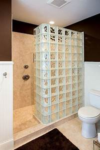 mettons des briques de verre dans la salle de bains With brique de verre salle de bain