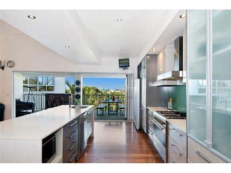modern galley kitchen design modern galley kitchen design using floorboards kitchen 7618
