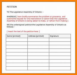 petition signature sheet to print pictures to pin on With template for petition signatures