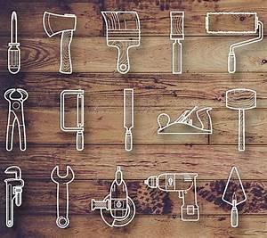 94 Outil De Bricolage : ressources 25 line icons pour les outils de bricolage ~ Dailycaller-alerts.com Idées de Décoration