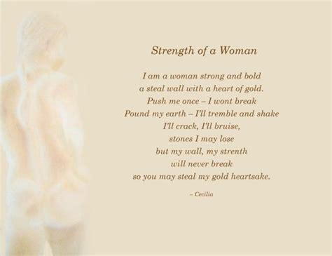 strength poems