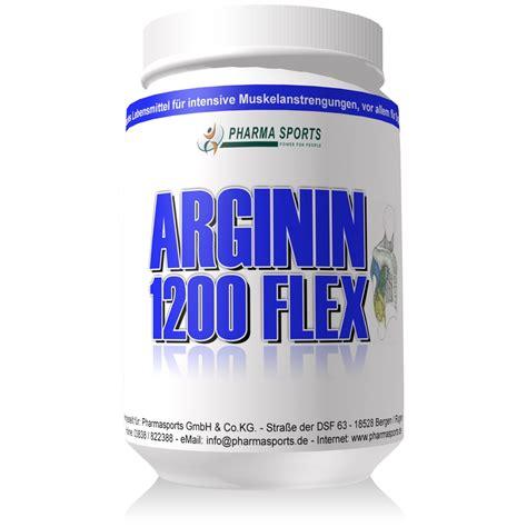 Pharmasports Arginin 1200 Flex Hochdosierte Arginin Kapseln