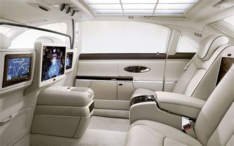 luxury cars inside maybach interior 2012 cars n bikes