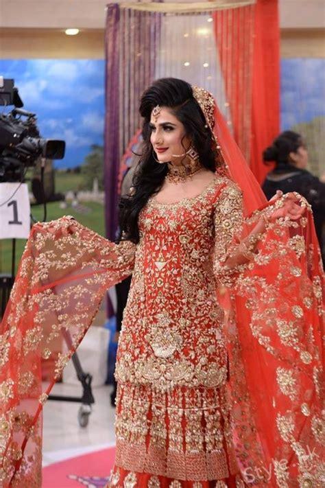 latest pakistani bridal dresses  bridal makeup