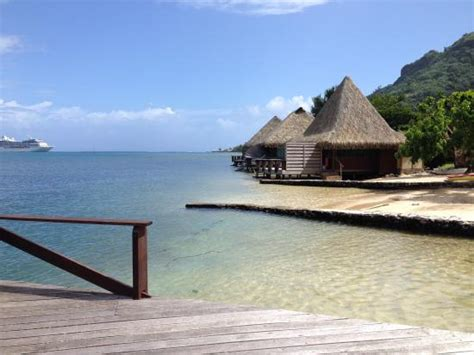 Beach And Overwater Bungalows  Picture Of Club Bali Hai