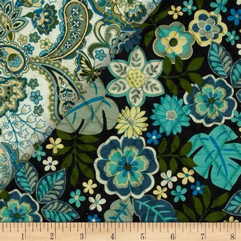 cassandra double sided quilted teal pre quilted fabric teal fabric quilt fabric