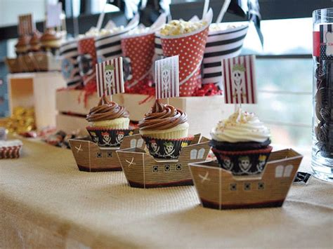 Pirate Party Boat by Pirate Party Boats Cupcakes Party Like A Kid Walk The