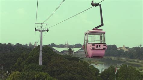 naik kereta gantung skyliftcable car  tmii taman mini indonesia indah youtube