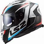 Ls2 Storm Helmet Motorcycle Face Bike Racer