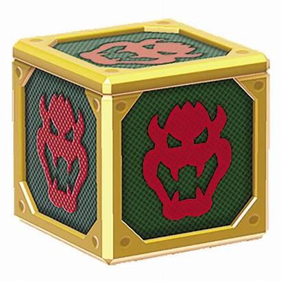Box Baddie Mario Super Bowser Yellow Sm3dw