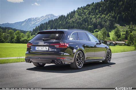The 2017 Audi A4 S4 Sedan By Abt America Audiworld