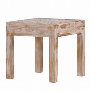Table Basse Pin Massif : table basse chapalasee pin massif marron teint et ~ Teatrodelosmanantiales.com Idées de Décoration
