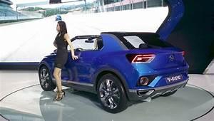T Roc Volkswagen : vw t roc compact crossover 2015 seoul live ~ Carolinahurricanesstore.com Idées de Décoration
