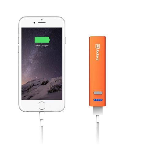 portable iphone charger jackery mini portable charger 3200mah