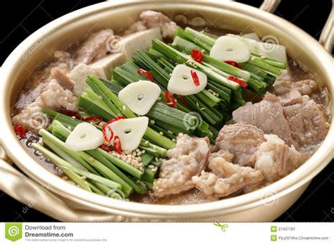 cuisine stock motsunabe japanese cuisine stock image image 27407781