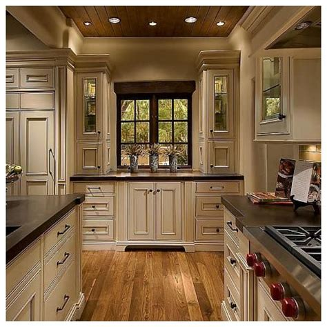 kitchens with colored cabinets kitchen with wood floor most popular home design 8783