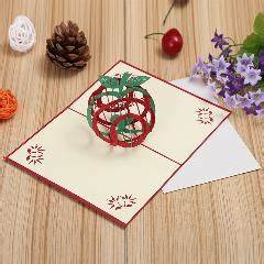 Manufacturers Selling Green Fruit Christmas Cards Diy