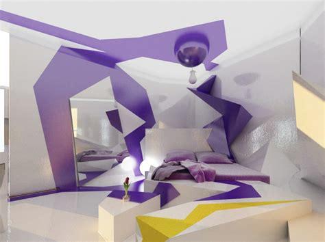 chambre ultra moderne la couleur parme l intégrer dans la déco intérieure