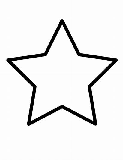 Star Shape Coloring Pages Diamond Shapes Simple
