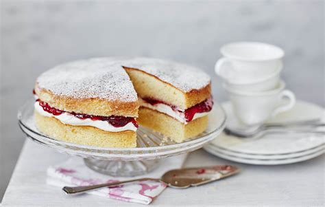 victoria sponge cake sponge recipes tesco real food