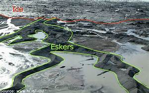 Virtual Field Trip Blakeney Esker Explored Geology Of