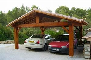 Garage Bois 40m2 : construire un appenti en bois plan capturnight ~ Melissatoandfro.com Idées de Décoration