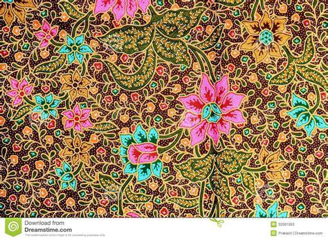 colorful batik cloth fabric background stock image image