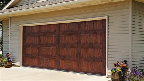 rustic wood siding garage door trends so chic